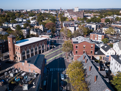 Inman Square in Cambridge